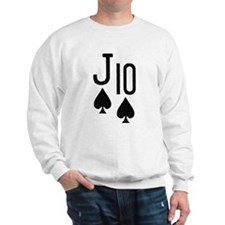 Jack Ten Poker Sweatshirt