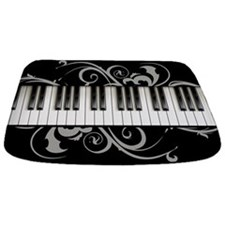 Piano Keyboard Bathmat