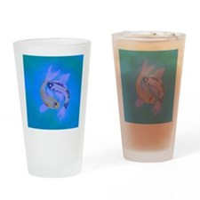 Yin Yang Koi Drinking Glass