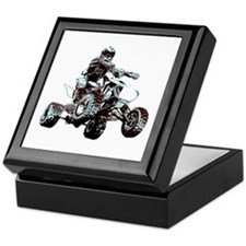 ATV Racing Keepsake Box