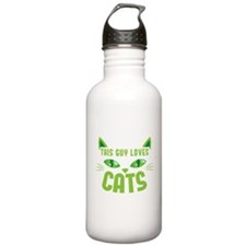 This guy loves CATS Sports Water Bottle