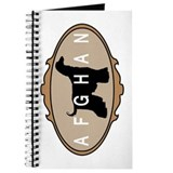 picture frame afghan hound Journal