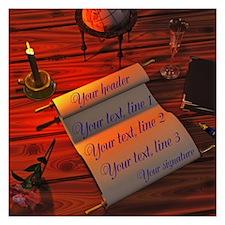 Personalizable handwritten Invitations