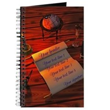 Personalizable handwritten letter Journal