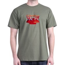 Gibraltar flag ribbon T-Shirt