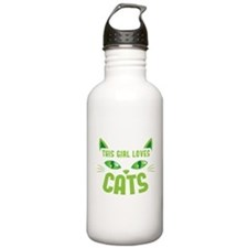 This girl loves CATS Sports Water Bottle