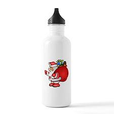 Christmas Santa Claus Water Bottle