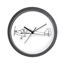 Piper J3 Cub Wall Clock