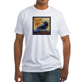 Tuscan Moon and Crow Raven Shirt