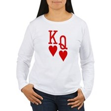King Queen Poker T-Shirt