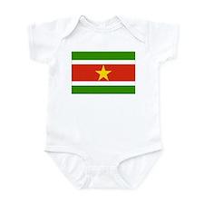 Cute Travel suriname Infant Bodysuit