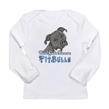 Real Girls Rescue Pitbulls Long Sleeve T-Shirt