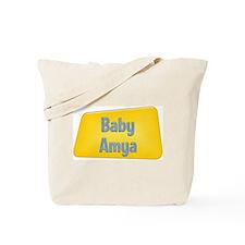 Baby Amya Tote Bag