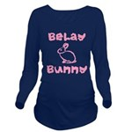 Belay Bunny Long Sleeve Maternity T-Shirt