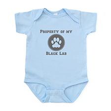 Property Of My Black Lab Body Suit