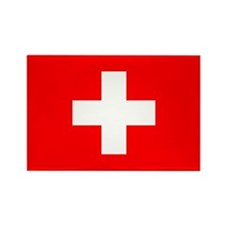 Cute Switzerland pride Rectangle Magnet