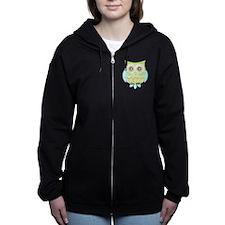 Bright Eyes Owl Zip Hoodie