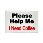 Please Help Me. I need Coffee. Magnets