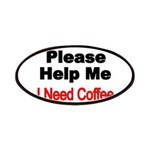 Please Help Me. I need Coffee. Patches