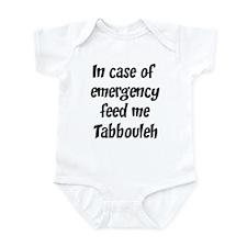 Feed me Tabbouleh Infant Bodysuit
