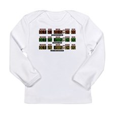 BTTF Time Clock Long Sleeve Infant T-Shirt
