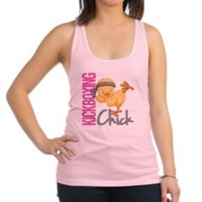 Kickboxing Chick 2 Racerback Tank Top