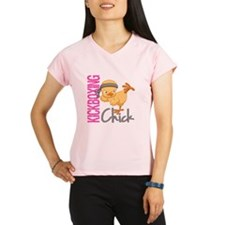 Kickboxing Chick 2 Performance Dry T-Shirt