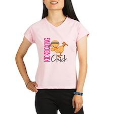 Kickboxing Chick 2 Performance Dry T-Shirt