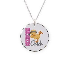 Kickboxing Chick 2 Necklace