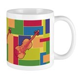 Violin Colorblocks Mug