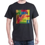 Violin Colorblocks T-Shirt