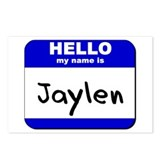 hello my name is jaylen  Postcards (Package of 8)