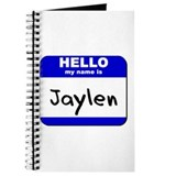 hello my name is jaylen Journal