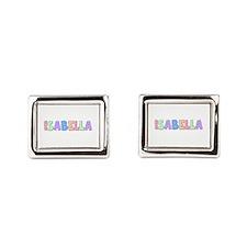Isabella Pastel Rainbow Cufflinks