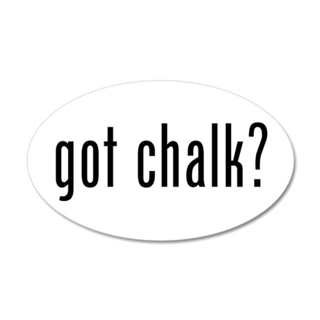 Got Chalk? Wall Decal