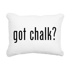Got Chalk? Rectangular Canvas Pillow