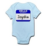 hello my name is jaydin  Onesie