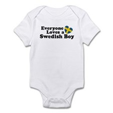 Everyone Loves a Swedish Boy Infant Bodysuit