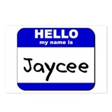 hello my name is jaycee  Postcards (Package of 8)