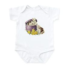 Easter Bunny Daffodils Infant Bodysuit