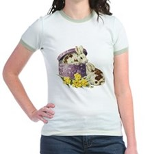 Easter Bunny Daffodils T