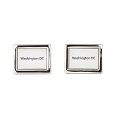 Washington DC Stars and Stripes Cufflinks
