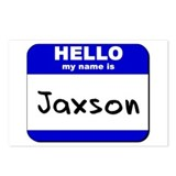 hello my name is jaxson  Postcards (Package of 8)