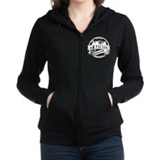 Mt Rainier Old Circle.png Zip Hoodie