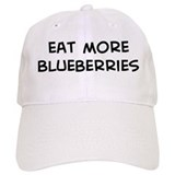Eat more Blueberries Baseball Cap