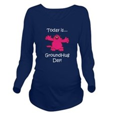 GroundHug Day Long Sleeve Maternity T-Shirt