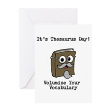 Its Thesaurus Day! Greeting Cards