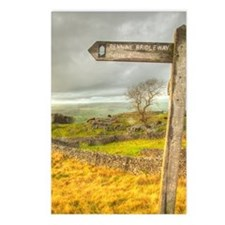 Postcards - Features Pennine Bridleway Sign