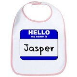 hello my name is jasper  Bib