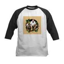 Personalizable Holly Wreath Frame Tee
